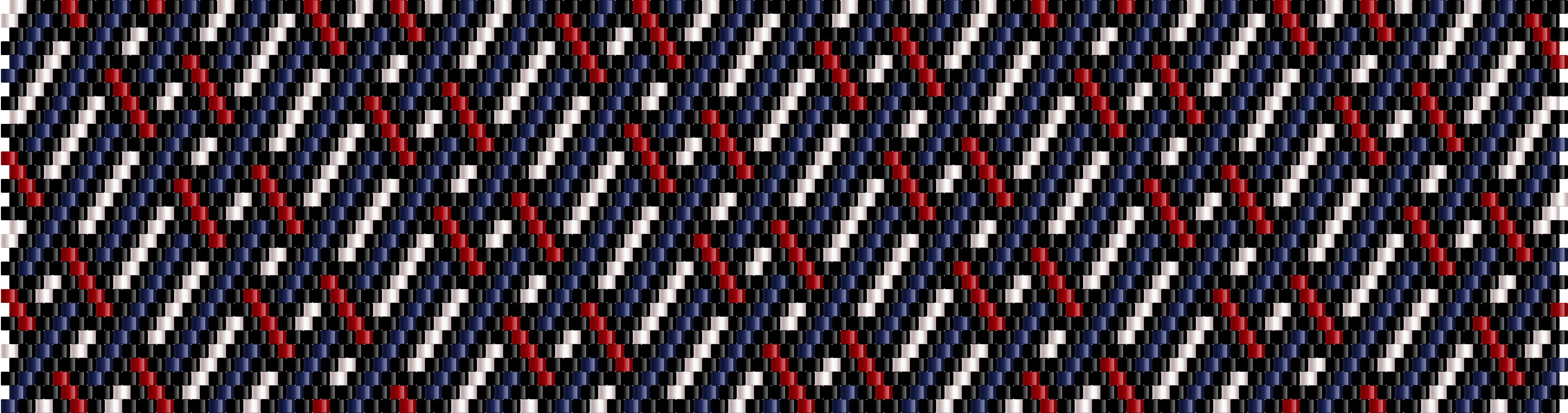 Interweaving lines – free pattern